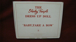 """NEW Vintage Shirley Temple Dress Up Doll """"Baby Take A Bow"""" Clothing Danb... - $29.69"""