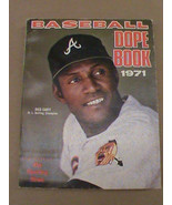1971 Baseball Dope Book EXNRMT Rico Carty Cover Braves The Sporting News - $14.00
