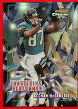 2000 Bowman Chrome REFRACTOR Shattering Performers Keenan MCCardell Jaguars - $8.59
