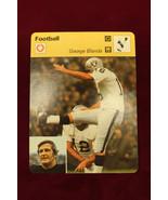 1977 SPORTSCASTER George Blanda Raiders printed in Italy - $10.88