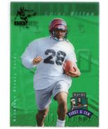 1997 Playoff First & Ten KICK OFF GREEN Parallel Corey Dillion #K166 Ben... - $9.89