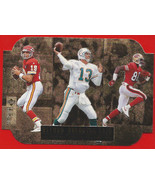 1996 Collectors Choice Record Breaking Trios Montana Marino Rice 49ers D... - $20.79