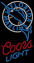 Coors Light MLB Florida Marlins Neon Sign - $699.00