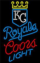Coors Light MLB Kansas City Royals Neon Sign - $699.00