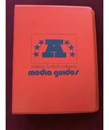 1975 AFL Conference Media Guide Binder W/ 3 Press Guides BRONCOS OILERS ... - $23.01