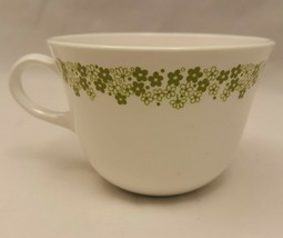 Spring Blossom Crazy Daisy Corelle Corning White Green Flowers Mug Cup (2 Avail) - $8.59