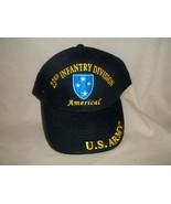 23rd Infantry Division 100% Cotton Ballcap, Americal - $15.84