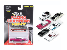 Mint Release 2017 Set A Set of 6 cars 1/64 Diecast Model Cars by Racing Champion - $67.19