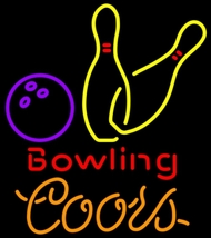 Coors Bowling Neon Sign - $699.00
