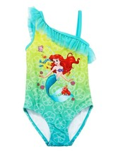 LITTLE MERMAID ARIEL DISNEY UPF-50+ Swim Bathing Suit NWT Toddler's Size 3T - $17.03