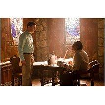 Dexter Edward James Olmos as Prof. Gellar seated at art table looking up... - $7.95