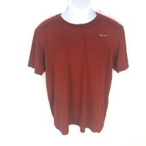 Nike Men's Red Dri-fit T-shirt L - $14.84