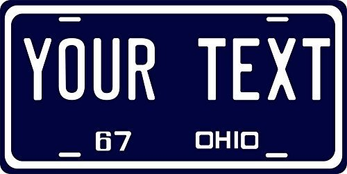 Primary image for Ohio 1967 Personalized Tag Vehicle Car Auto License Plate