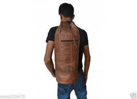 vintage backpack ergo coach shoulder hobo brown satchel real goat leathe... - $135.00
