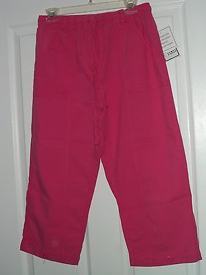 Primary image for SALEM STRAITS CAPRI SIZE XL  DARK PINK  LIGHTWEIGHT NWT