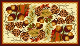 "Latch Hook Pattern Chart: READICUT #362 Fall Braid 30"" x 50""  - EMAIL2u - $6.95"