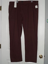 Calvin Klein Jeans Pants Size 40 X32 Brown Msrp: $59.50 Nwt - $22.99