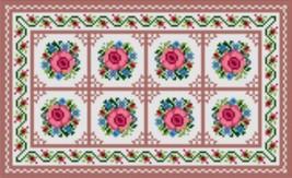 "Latch Hook Pattern Chart: READICUT #1958 Roses 30"" x 50""  - EMAIL2u - $6.95"