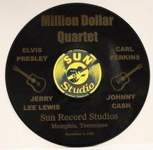 """Elvis Presley """"Million Dallor Quartet"""" Black Vinyl 12"""" LP With The Words... - $49.95"""