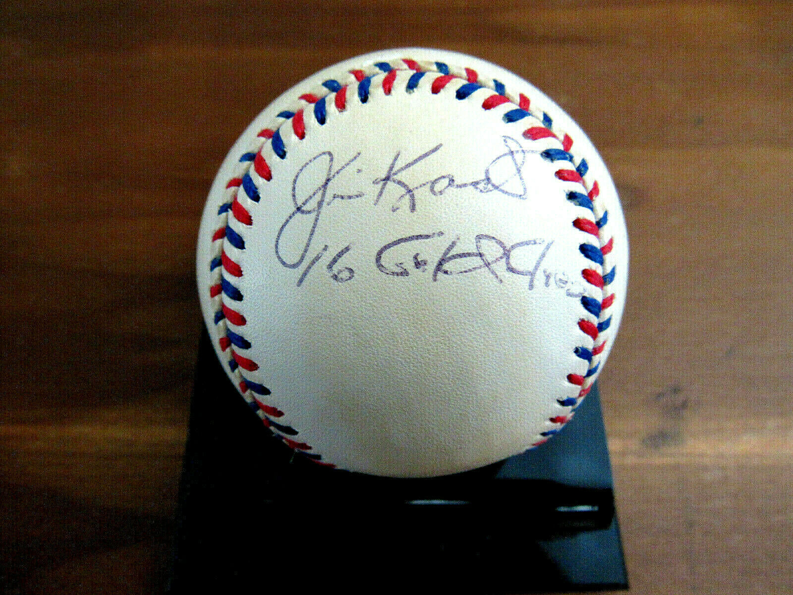 Primary image for JIM KAAT 16 GOLD GLOVES TWINS YANKEES CARDS SIGNED AUTO 96 ALL-STAR BASEBALL BAS