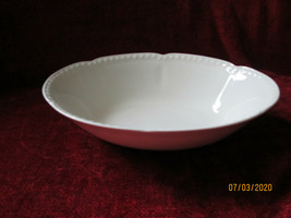 Johnson Brothers Old English  White oval serving bowl - $23.75