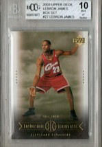 2003 Upper Deck LeBron James Box Set #27 BCCG Beckett 10 P476 - $23.15