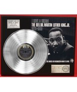 Dr Martin Luther King Jr Platinum LP Record LTD Edition Award Style Coll... - $144.95