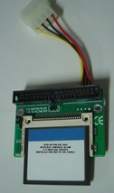 """2GB SSD Replace Vintage 3.5"""" IDE Drives with this 40 PIN IDE SSD Card & Adapter"""