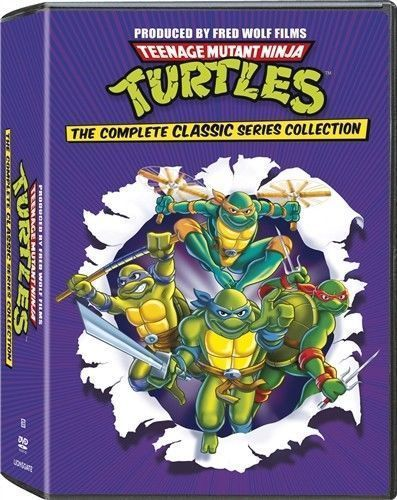 Teenage Mutant Ninja Turtles: The Complete Classic Series Collection DVD Set NEW