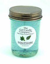 Eucalyptus Mint 90 Hour Gel Candle Classic Jar - $9.65