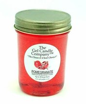 Pomegranate 90 Hour Gel Candle Classic Jar - $9.65