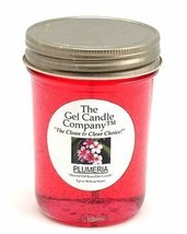 Plumeria 90 Hour Gel Candle Classic Jar - $9.65