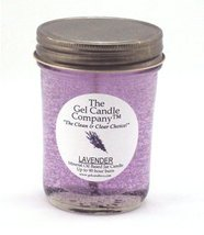 Lavender 90 Hour Gel Candle Classic Jar - $9.65