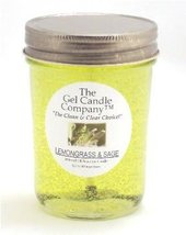 Lemongrass and Sage 90 Hour Gel Candle Classic Jar - $9.65