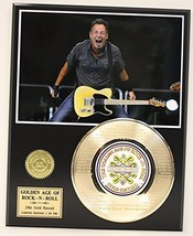 """Bruce Springsteen Laser Etched With Lyrics To """"Born In The U.S.A."""" Limit... - $94.95"""