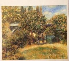 The Railway Bridge(Mini Print) By Pierre Renoir - $9.95