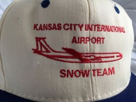 Vtg Kansas City International Airport Hat Snow ... - $29.69