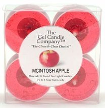 Mcintosh Apple Scented Gel Candle Tea Lights - 4 pk. - €4,14 EUR