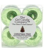 Christmas Tree Scented Gel Candle Tea Lights - 4 pk. - $4.80