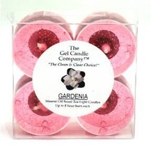 Gardenia Scented Gel Candle Tea Lights - 4 pk. - €4,22 EUR