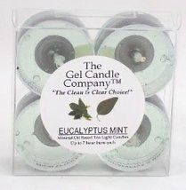 Eucalytptus Mint Scented Gel Candle Tea Lights - 4 pk. - €4,22 EUR