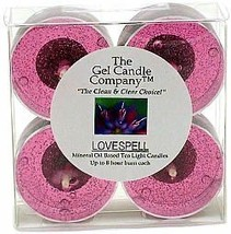 Lovespell Inspired Scented Gel Candle Tea Lights - 4 pk. - €4,22 EUR