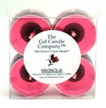 Magnolia Scented Gel Candle Tea Lights - 4 pk. - €4,20 EUR