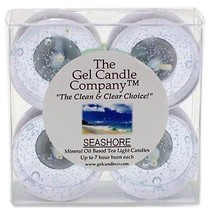 Seashore Scented Gel Candle Tea Lights - 4 pk. - €4,22 EUR