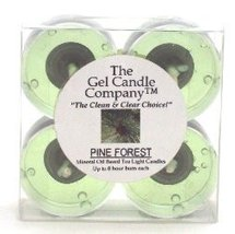 Scotch Pine Scented Gel Candle Tea Lights - 4 pk. - €4,20 EUR