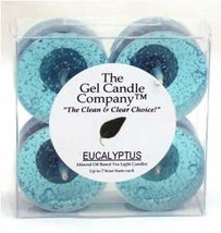Eucalytptus Scented Gel Candle Tea Lights - 4 pk. - €4,20 EUR