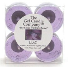 Lilac Scented Gel Candle Tea Lights - 4 pk. - $4.80