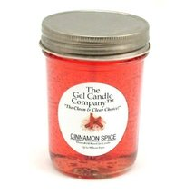 Cinnamon Spice Scented 90 Hour Gel Candle Classic Jar - €7,90 EUR