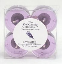 Lavender Scented Gel Candle Tea Lights - 4 pk. - €3,93 EUR