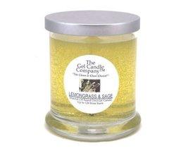 Lemongrass & Sage Scented Gel Candle - 120 Hour Deco Jar - $15.47
